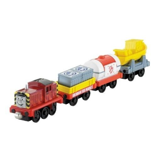 Fisher-Price フィッシャープライス Thomas トーマス the Train: Take-n-Play Salty's Catch of the Day