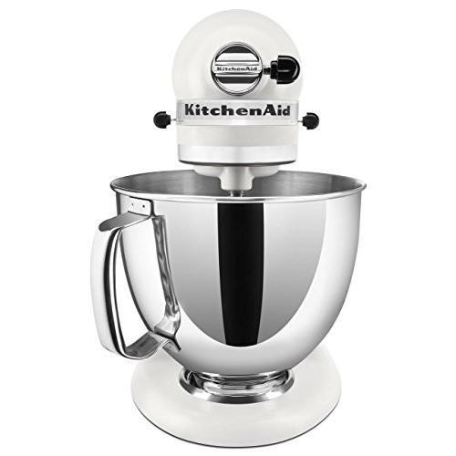 KitchenAid 5クォート KSM150PSMR アーティシャン・シリーズ キッチンエイドミキサー (Matte Pearl Whi