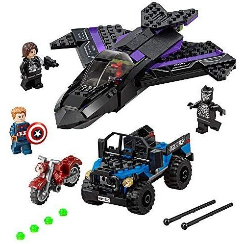 レゴ LEGO Super Heroes 黒 Panther Pursuit 76047 6137812