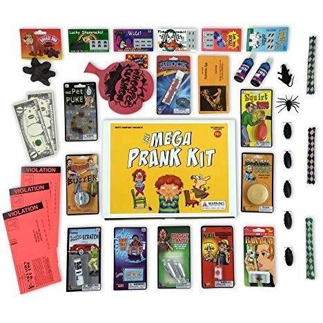 ブライト Brite Co Pranks The Mega Prank Kit 35 Funny Pranks and Jokes in a Gift Box 7130867