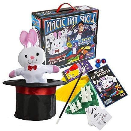 ファンタスマ Fantasma Toys Retro Magic Hat Show 100 Fun and Easy Tricks Includes Fabric Top Hat wi