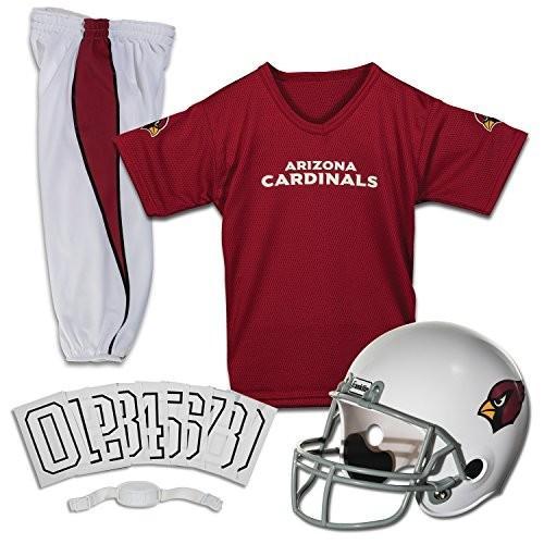 フランクリン Franklin Sports NFL Arizona Cardinals Youth Licensed Deluxe Uniform Set, Large 15702F
