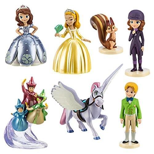 ソフィアザファースト Sofia the First Disney 7 piece Figure Play Set 1 3264747