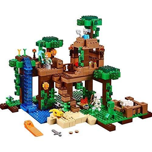 レゴマインクラフト LEGO Minecraft The Jungle Tree House 21125