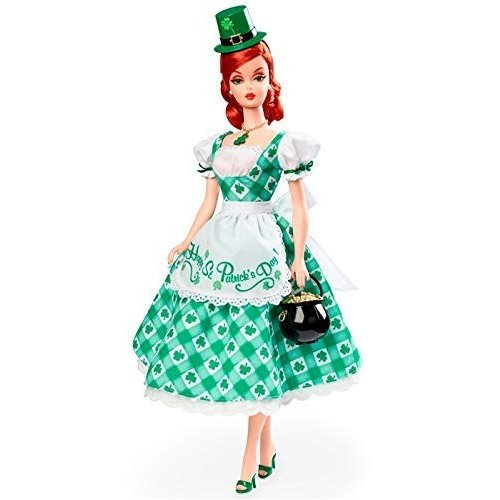 バービー人形 Shamrock Celebration Barbie Doll