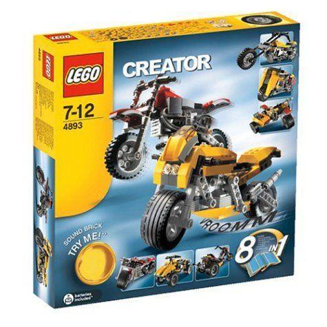 レゴ クリエイター・モーターバイク 4893
