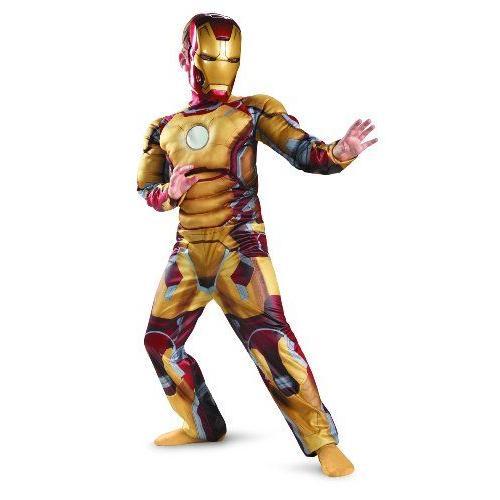 映画 『アイアンマン 3』 マーク 42 子供用 デラックス コスチューム Marvel Iron Man 3 Mark 42 Boys Cl