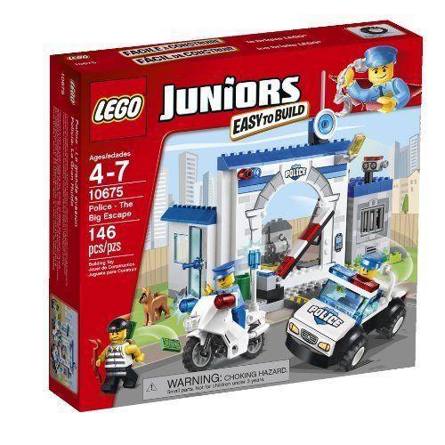 LEGO Juniors 10675 Police - The Big Escape おもちゃ