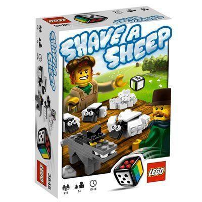LEGO 3845 Shave a Sheep (レゴ ゲーム 羊の毛刈り競争)