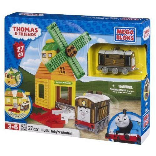 Mega Bloksメガブロック製 きかんしゃトーマス・トビーの風車