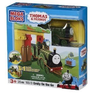 Mega Bloks トーマス 3-in-1 Buildable Emily on the Go