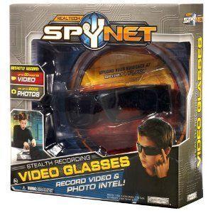 SPY NET: Stealth Video Glasses/スパイネット ステルスビデオグラス