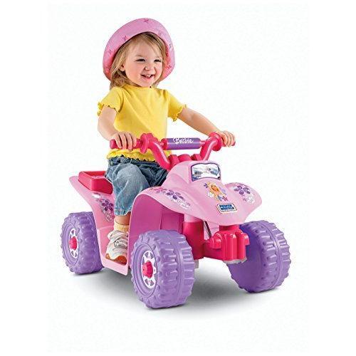 Power Wheels Barbie Lil' Quad 電動車 バービー