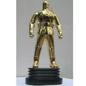 Iron Man (アイアンマン) The Original ゴールド Chrome Exclusive Bowen Designs Statue フィギュア おもち