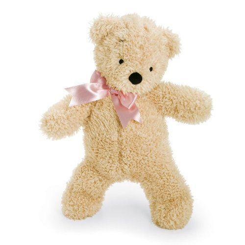 North American Bear ノースアメリカンベア Smushy Bear, ピンク Ribbon, 12
