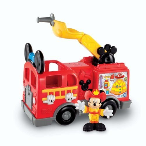 FISHER-PRICE MICKEY'S SAVE THE DAY FIRE TRUCK