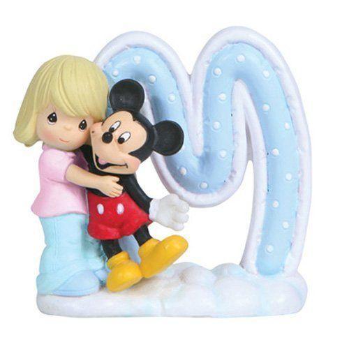 プレシャス・モーメンツ Precious Moments ディズニー ミッキーマウス Alphabet M Figurine フィギュア 7