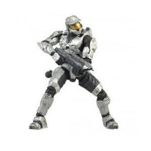 Halo 3 Series 1 - Spartan Soldier Mark VI Armor (白い) 131002fnp