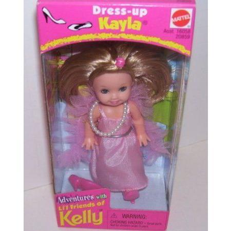 Adventures with Kelly Barbie(バービー) Doll Friend Dress up Kayla ドール 人形 フィギュア