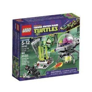 LEGO (レゴ) Ninja Turtles Kraang Lab Escape 79100 ブロック おもちゃ