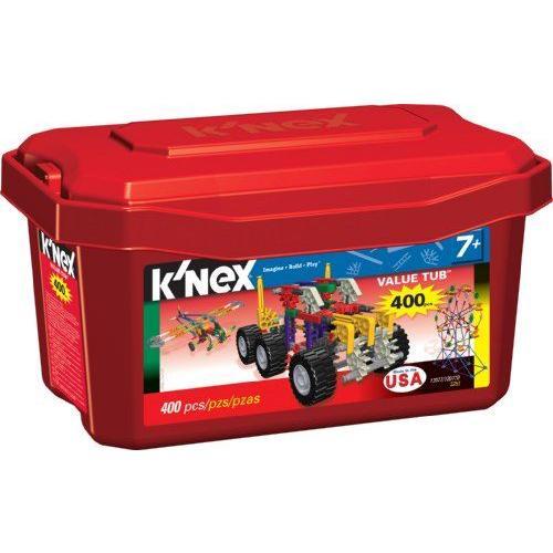 コネックス バリュータブ 400ピース K'nex Value Tub 400 pieces
