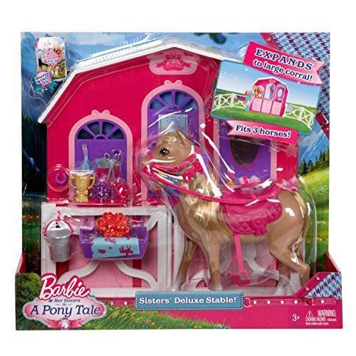 バービー・Mattel Barbie Y7554「幸福の馬、プレイセット」