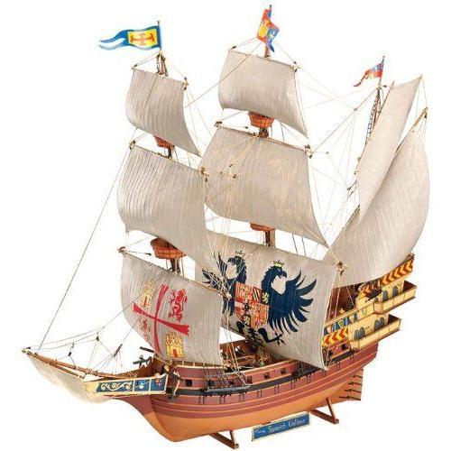 ドイツレベル 1/96スケール 【05620】 スパニッシュ ガレオン (帆船)