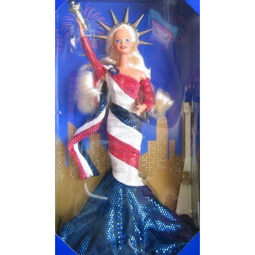 Barbie バービー Statue of Liberty Limited Edition FAO Schwarz Doll (1995) 人形 ドール