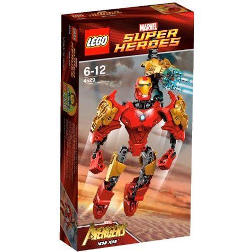 レゴ スーパー・ヒーローズ アイアンマン(TM) 4529