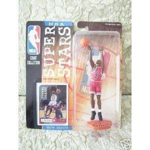 Mattel NBA Super スター Figure 1998-99 Edition - Michael Jordan (赤 Chicago Bulls Jersey)
