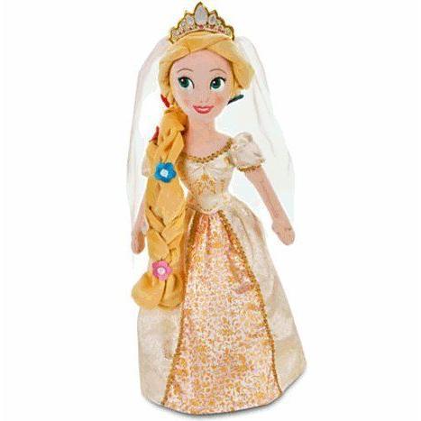 Disney(ディズニー) Rapunzel Plush Bride Doll - 20'' ラプンツェルのブライダルぬいぐるみ(50cm)