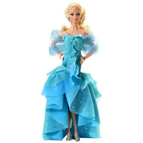 Barbie バービー Collector's Edition - 青 Gown 人形 ドール