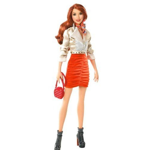 Barbie バービー Stardoll by Barbie バービー Bisou - オレンジ Doll 人形 ドール