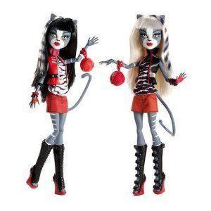 Monster ハイ Werecat ツイン Sisters