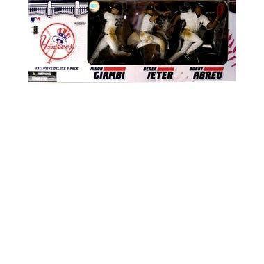 マクファーレントイズ MLB 3パック NY YANKEES(ジーター、ジアンビ、アブレイユ)