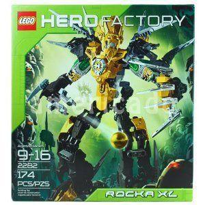 レゴ ヒーローファクトリー 大箱 ロッカ XL 2282 Lego Hero Factory Rocka XL 2282