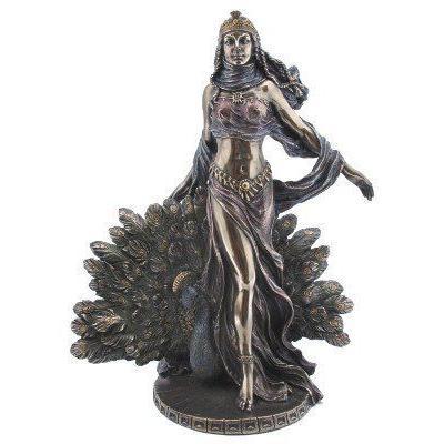 Greek Goddess Hera Bronzed Statue Juno Weddingsギリシャの女神ヘラ青銅像ジュノウェディング【