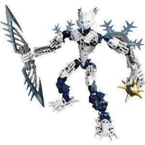 レゴ Year 2009 Bionicle Glatorian Legends DVD シリーズ 7 インチ Tall フィギュア セット # 8988 : ホ