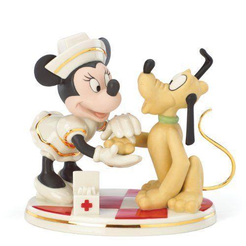 Nurse Minnie Mouse ディズニーフィギュア Lenox社