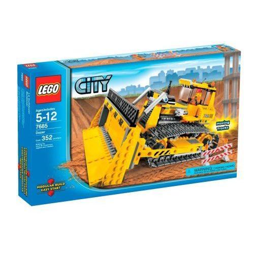 レゴ LEGO シティ 工事 ブルドーザ 7685