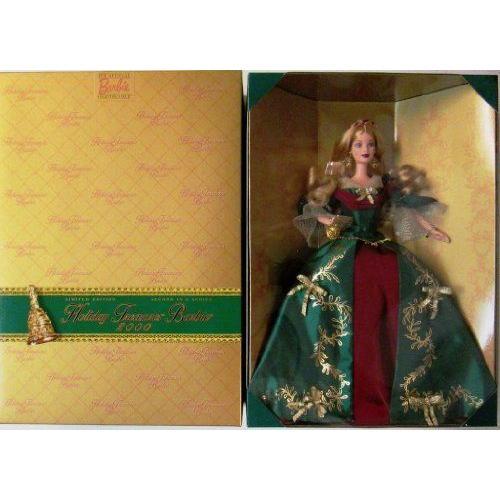 2000 HOLIDAY TREASURES COLLECTOR CLUB Barbie バービー 人形 ドール
