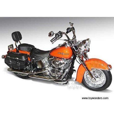 81180 ダイキャスト Promotions - Harley-davidson Flstc Heritage Softail Classic Motorcycle (2012, 1