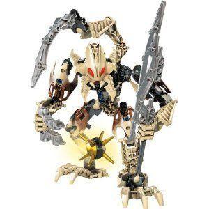 レゴ Year 2009 Bionicle Glatorian シリーズ 7 インチ Tall フィギュア セット # 8983 - VOROX with Sca