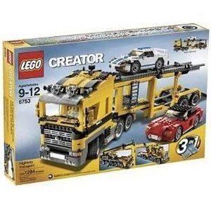 レゴ クリエイター・ハイウェイキャリアカー 6753