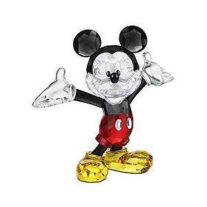 スワロフスキー SWAROVSKI クリスタル フィギュア ミッキーマウス Disney(ディズニー) 1118830