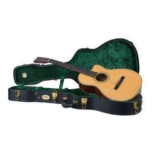 Recording King レコーディングキング CG-044K-N Vintage Hardshell Case, Deep Small Body Guitar