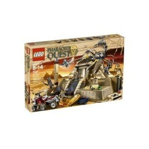 LEGO レゴ Pharaoh Quest Scorpion Pyramid 7327 131220fnp