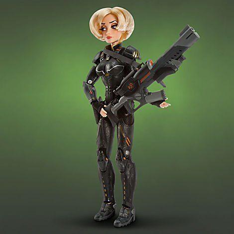 Disney ディズニー Pixar Wreck It Ralph LE Limited Edition Sergeant Calhoun Doll 1 of 1000 Rare 人