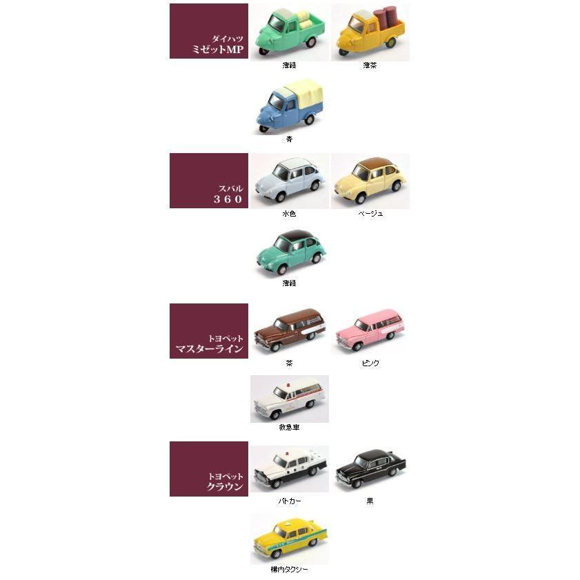 トミーテック ザ・カーコレクション 第11弾 12個入りボックス【Nゲージ】【鉄道模型】【ジオコレ】【情景小物】