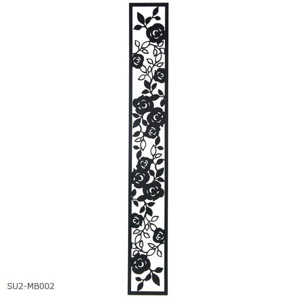 壁面装飾 ローズパネルB W150×H1100 SU2‐MB002  おしゃれ ウォールパネル